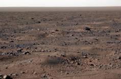 Gel sur Mars